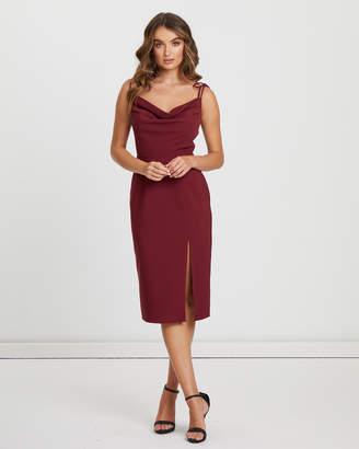 3037bd3881e Red Cowl Neckline Dresses - ShopStyle Australia
