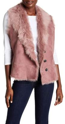 UGG Toscana Reversible Genuine Lamb Fur Vest