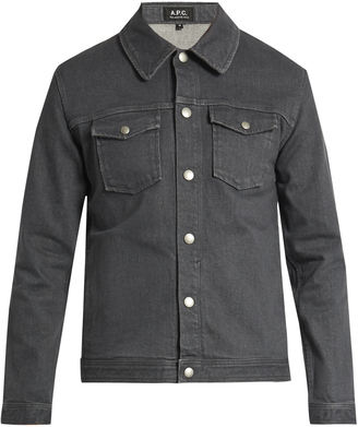 A.P.C. John denim jacket $244 thestylecure.com