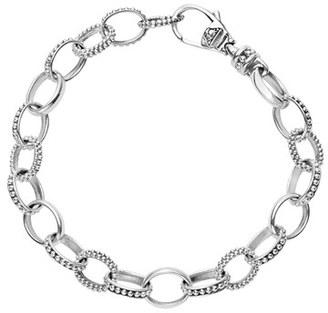 Women's Lagos 'Link' Caviar Chain Bracelet $295 thestylecure.com