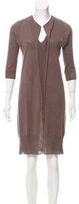 Zero Maria Cornejo Linen-Blend Sweater Dress