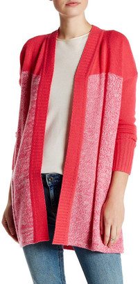 Kinross Marled Colorblock Cashmere Cardigan $149.97 thestylecure.com