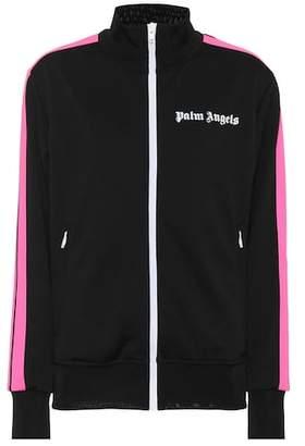 Palm Angels Logo printed track jacket