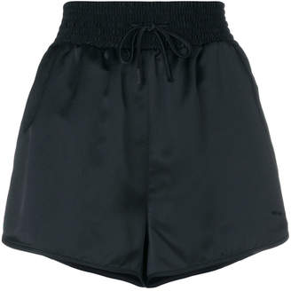 Off-White satin shorts
