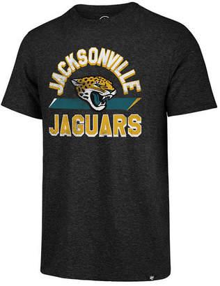 '47 Men's Jacksonville Jaguars Team Stripe Match Tri-Blend T-Shirt