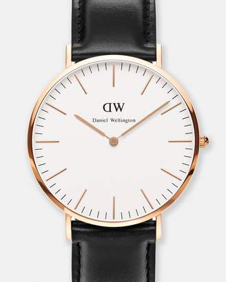 Daniel Wellington Classic Sheffield Silver 40mm