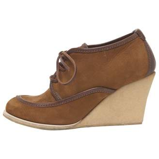 Brown Suede Mules & Clogs