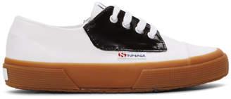 ALEXACHUNG White and Black Superga Edition 2767 Sneakers