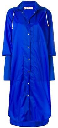Marni long extended cuff raincoat