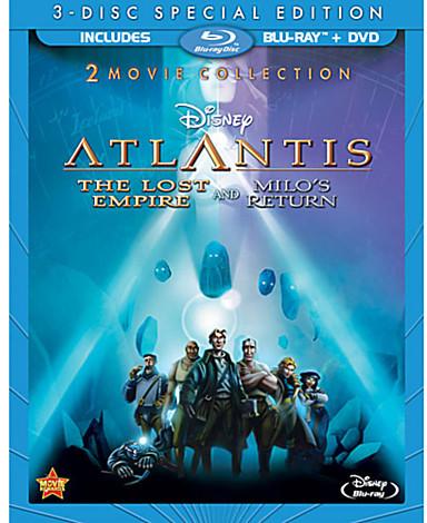 Disney Atlantis: The Lost Empire 2-Movie Collection