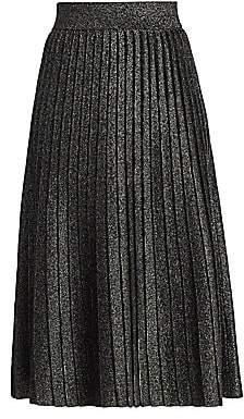 A.L.C. Women's Nevada Lurex Knit Midi Skirt