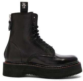 R 13 Leather Boots