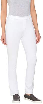 Susan Graver Weekend Knit Jeggings with Contrast Stitching