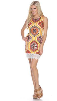 White Mark Women Thea Dress