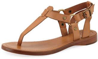 Frye Rachel T-Strap Leather Sandals