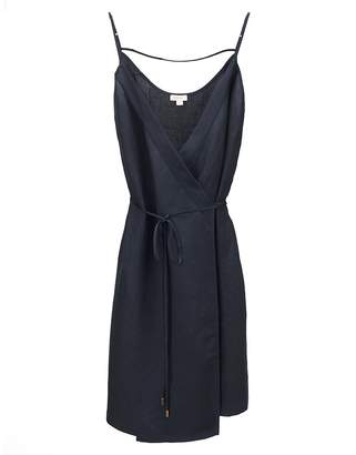 Cuyana Linen Wrap Dress