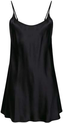 La Perla Silk Chemise dress
