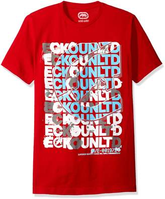 Ecko Unlimited Unltd. Men's Scrambled Scrabble Tee Shirt