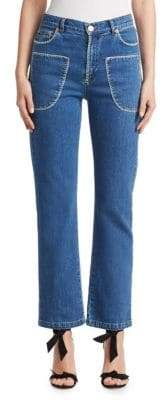 See by Chloe Stitched Denim Jeans
