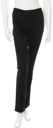 Vera Wang Zip-Accented Straight-Leg Pants $95 thestylecure.com