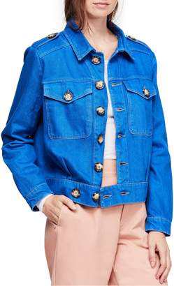 Free People Eisenhower Denim Jacket