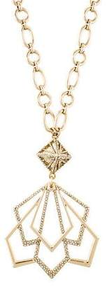 Lulu Frost Crystal Portico Pendant Necklace