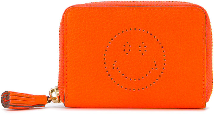Anya Hindmarch Anya Hindmarch smile embossed wallet