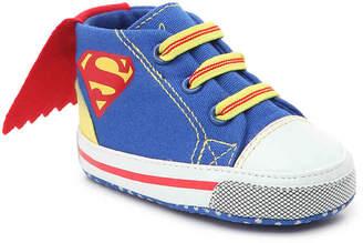 Superman Infant Crib Shoe - Boy's