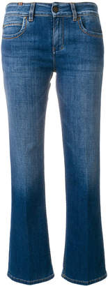 Notify Jeans cropped faded jeans