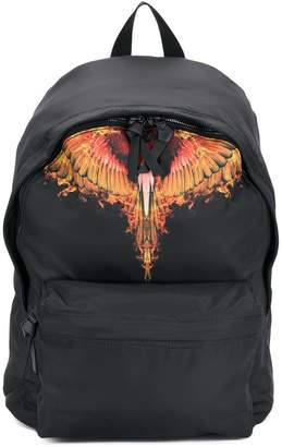 Marcelo Burlon County of Milan Flames backpack