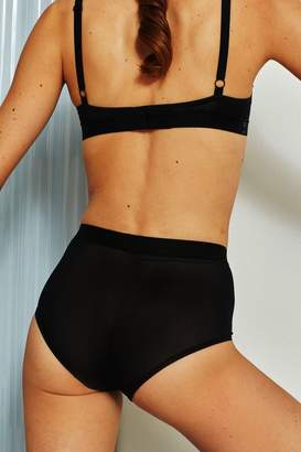 Sieve High-Waist Brief