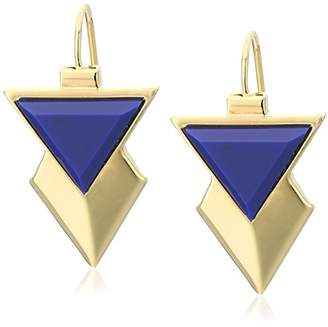 "Trina Turk Color Pop"" Triangle Drop Earrings"