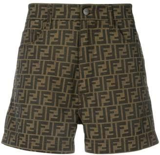 Fendi logo shorts