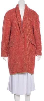 Isabel Marant Wool-Blend Knee-Length Coat