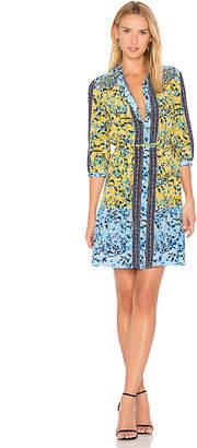 SALONI Tyra Dress in Yellow $445 thestylecure.com