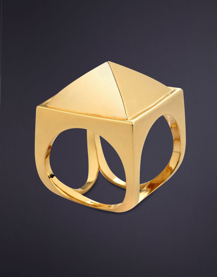 Agent Provocateur Cleopatra Pyramid Ring