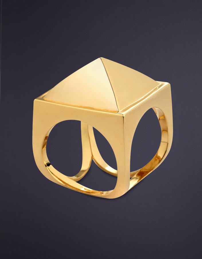 Cleopatra Pyramid Ring