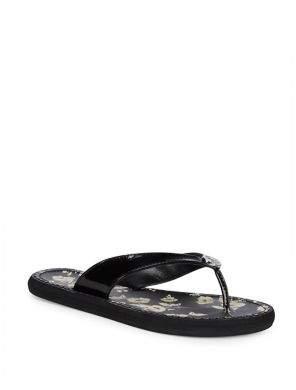 Lauren Ralph Lauren Raia Floral Thong Sandals