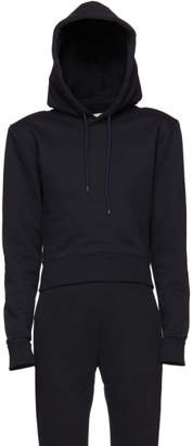 A-Plan-Application Navy Fitted Hoodie