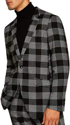 Topman Leigh Classic Check Slim Fit Suit Jacket