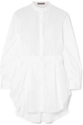 Alexander McQueen Cotton-poplin Shirt - White