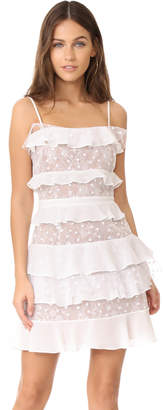 For Love & Lemons Cosmic Tiered Lace Dress $285 thestylecure.com