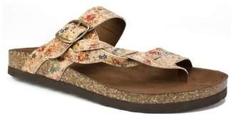 White Mountain Crawford Braided Footbed Sandal