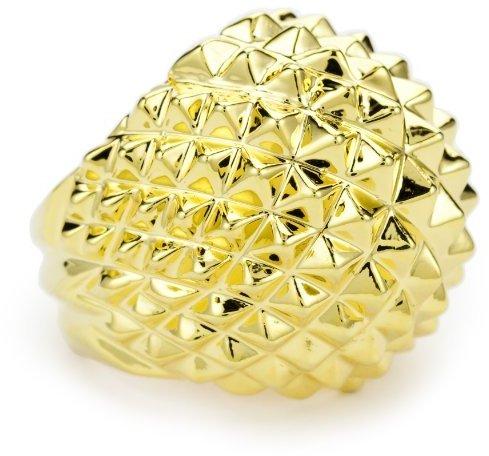 Beyond Rings Gold Rocker Ring