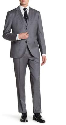 BOSS Johnston Solid 3-Piece Suit