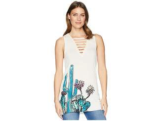 Rock and Roll Cowgirl Tank Top 49-6737 Women's Sleeveless