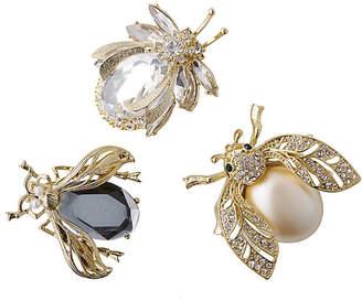 Joanna Buchanan Classic Sparkle Bug Ornaments - Black