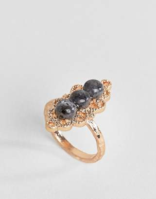 Asos Filigree Stone Set Ring
