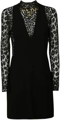 Givenchy Lace Leopard Print Dress