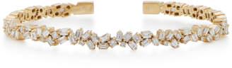 Suzanne Kalan 18K White Gold Diamond Bracelet